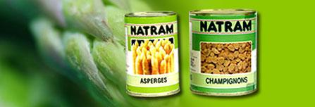 Conserves de légumes hyposodées