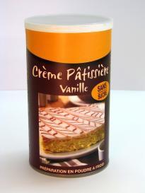 CREME PATISSIERE VANILLE - Pour 1 litre de préparation
