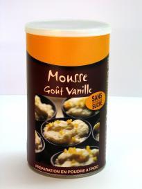 MOUSSE VANILLE - 285 g