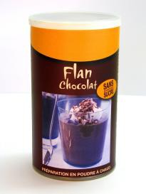 FLAN CACAO - 420 g Pour 3 litres