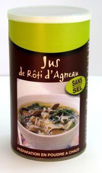 JUS DE ROTI D'AGNEAU - Pour 4 litres de préparation