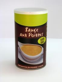 SAUCE AUX POIVRES HYPOSODEE - pour 1,5 litres de préparation
