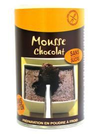 MOUSSE AU CHOCOLAT SANS GLUTEN - Pour 12 mousses individuelles