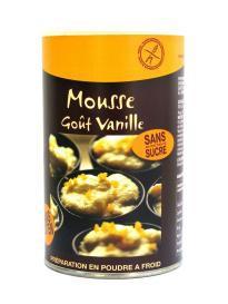 MOUSSE GOUT VANILLE SANS GLUTEN - Pour 12 mousses individuelles