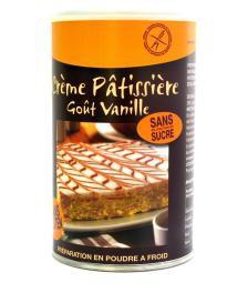 CREME PATISSIERE VANILLE SANS GLUTEN - Pour 1 litre