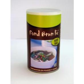 FOND BRUN LIE HYPOSODE - pour 4 litres de préparation