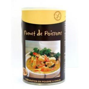 FUMET DE POISSONS  SANS GLUTEN - Pour 8 litres