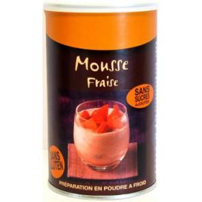 MOUSSE goût FRAISE boite de 285g