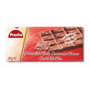 TABLETTE CHOCOLAT LAIT + NOISETTES
