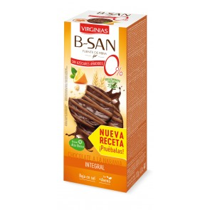 B-San biscuits chocolat orange sans sucres ajoutés